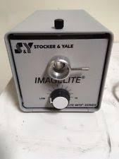 microscope fiber optic light source stocker yale imagelite model 20 fiber optic light source ebay