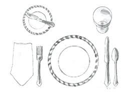 table setting western style inspiring table setting western style ideas best image engine