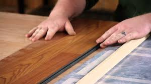 Glue Laminate Floor Reducer Strips For Laminate Flooring Repairs Youtube
