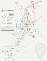 City Of Austin Map by Future Map U201cprojectconnect U201d Central Texas Transit Maps