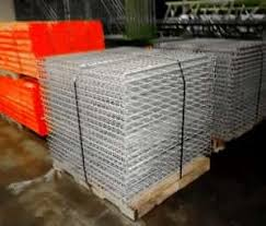 used wire decking material handling exchange