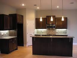 small kitchen lighting ideas marvelous small kitchen ideas with cone hanging lamp over grey