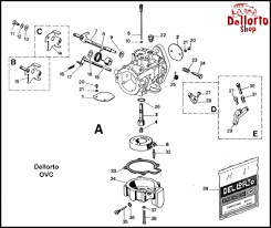 dellorto ovc carburetor parts