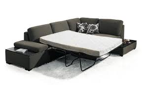 Sectionals With Sofa Beds Modern Fabric Sectional Sofa Bed With End Tables Vmb1015