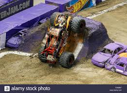 monster truck show 2016 new orleans la usa 20th feb 2016 captains curse monster truck