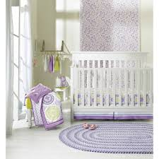 girls purple bedding amazon com circo 4pc crib bedding set purple medallion baby