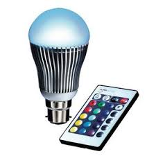 Remote Controlled Lights Remote Controlled Rgb Led B22 4w Bulb Maplin