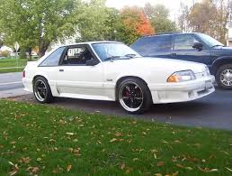 Black Fox Body Mustang Fox Body 18