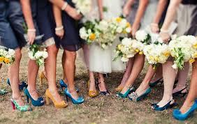 bridesmaids accessories mismatched bridesmaids chic vintage brides
