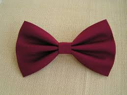 hair bow crimson hair bowfabric hair bowbows for teensfabric hair