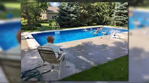 94 year old retired judge puts in pool for neighborhood kids youtube