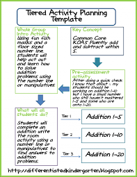 44 free lesson plan templates common core preschool weekly example