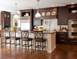 brown kitchen cabinets to white cabinets lighter island brown kitchen cabinets