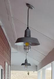 Galvanized Pendant Barn Light Barn Lights Capture Working Farm S Humble Roots