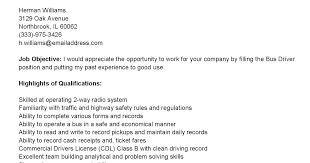 Sample Bus Driver Resume by Driver Resumes Bus Driver Resume Sample