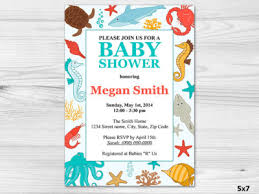 the sea baby shower invitations the sea themed baby shower ideas baby shower ideas themes