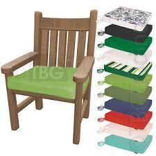 Waterproof Chair Pads Tie On Seat Pad Outdoor Waterproof Patio Garden Chair Bench