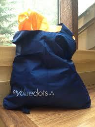 my blue dots eco bag my blue dots