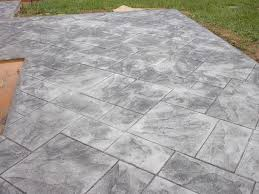 decorating awesome home design with stamped concrete patio plus