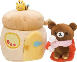 details about new rilakkuma delivering gloves plush doll stuffed