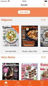 cuisine et vins cuisine et vins de on the app store