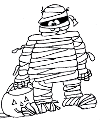 mummy coloring pages halloween empowermephoto