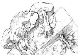 spider man and venom in eduardo nunez u0027s sketches for fun comic