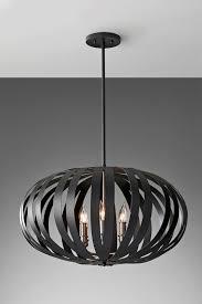 Modern Black Pendant Light Large Black Pendant Light Jannamo