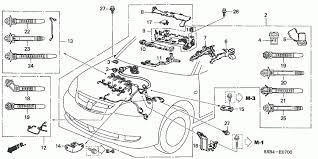 engine wire harness honda oem parts 2005 honda civic hybrid for