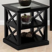 Contemporary End Tables Black Contemporary End Tables Foter