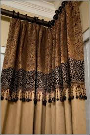 leopard comforter set with curtains curtains home design ideas