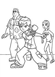 ben 10 coloring pages family coloringstar