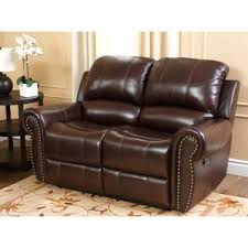 leather loveseats you u0027ll love wayfair