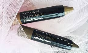 Maybelline Pensil Alis review maybelline fashion brow pomade crayon