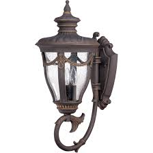 Lantern Style Outdoor Lighting by Nuvo 60 2041 3 Light Large Outdoor Wall Lantern Arm Up