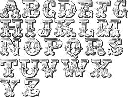 Letters Designs For - a handy collection of circus type fonts typography and