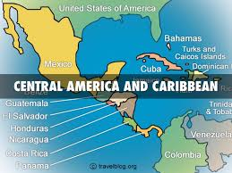 Central America And Caribbean Map by Central America And Caribbean By Sabrina Miller
