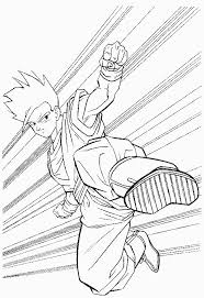 dbz coloring pages coloring pages print