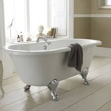 small space saving baths for compact bathroom suites milano 1500mm double ended freestanding bath