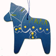 scandinavianshoppe dala ornament wooden 887r
