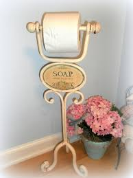 Cool Toilet Paper Holder Bathroom Shabby Chic Toilet Paper Holder With Wooden Floor And