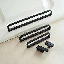 black modern kitchen cabinet pulls details about black modern style cabinet door handles cupboard knobs dresser drawer pulls