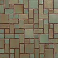 indoor mosaic tile wall floor ceramic savvy squares 123r