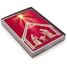 amazon com hallmark christmas handmade boxed assorted greeting