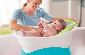 Bathing A Baby In A Bathtub Summer Infant Baby Products