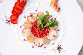 cuisine du soir michelin one restaurant in dordogne with great food near bergerac