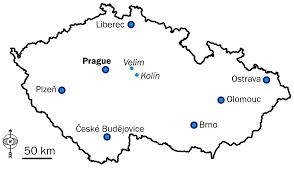 European Map Test by Velim Railway Test Circuit Wikipedia