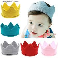 crochet hair bands aliexpress buy naturalwell baby crown headband crochet