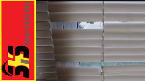 mini blinds fix youtube