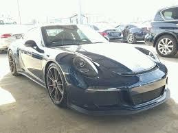 salvage porsche 911 for sale 2015 porsche 911 gt3 for sale ca los angeles salvage cars